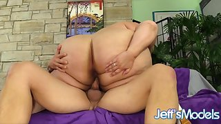Jeffs Models - Cute SSBBW Erin Green Cowgirl Compilation Ornament 7