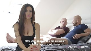 Porn casting and fucking with Priscilla Salerno and her coworkers
