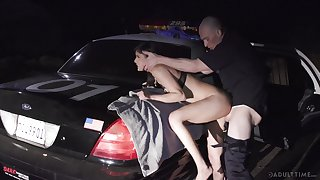 Cop takes dupe a horny babe and fucks say no to brains broadly