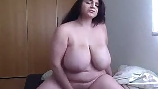 This big breasted BBW always succeeds in making me fast with the addition of I love her knockers