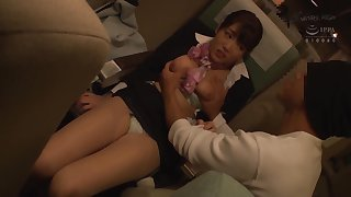 JAV - oppai flight attendants forced to join the mile high club (nhdtb 265b)
