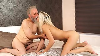 Old hairy pussy Surprise your girlpal and she will-power screw