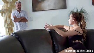 Forbidden fucking for teenage Cassidy Klein and an nightmarish older lover