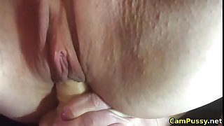 Fucking my juicy pussy up close for you on webcam